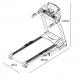 Housefit Spiro 40 rozměry trenažéru