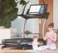 Běžecký pás NordicTrack Commercial X32i jóga v sedě